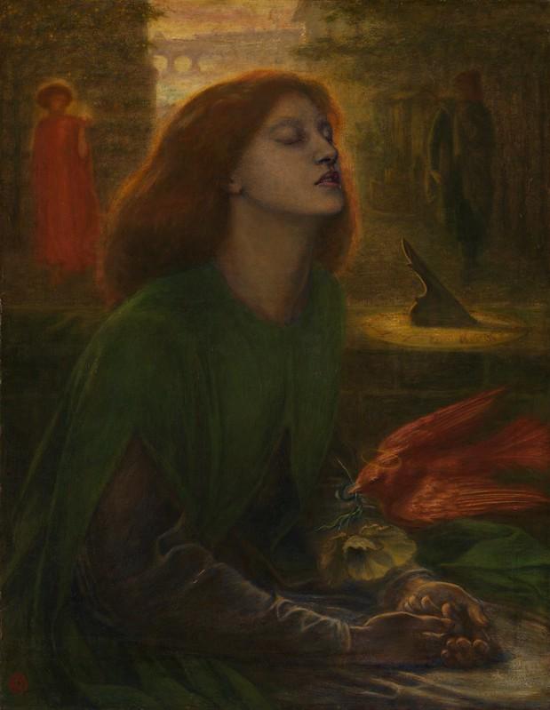 Dante Gabriel Rossetti - Beata Beatrix (c.1864)