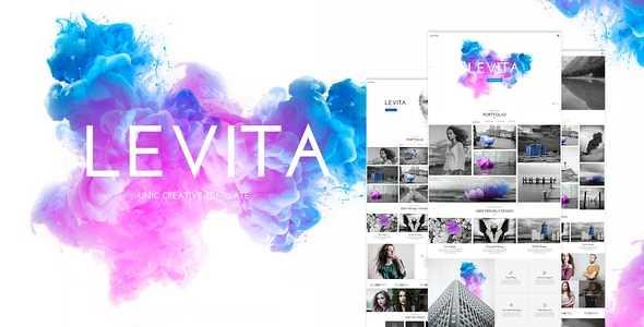 Levita WordPress Theme free download