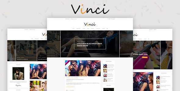Vinci WordPress Theme free download