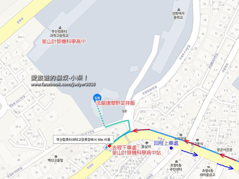釜山站地圖1