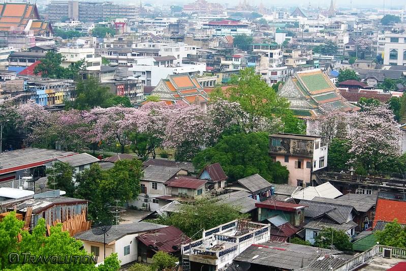 View from Golden Mount, Bangkok