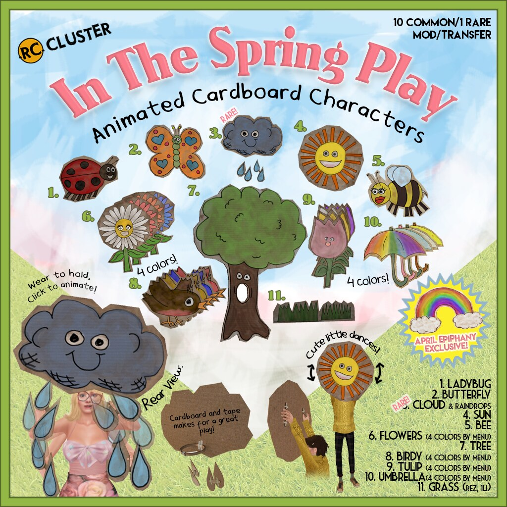 -RC- In the Spring Play Gacha at Epiphany! - SecondLifeHub.com