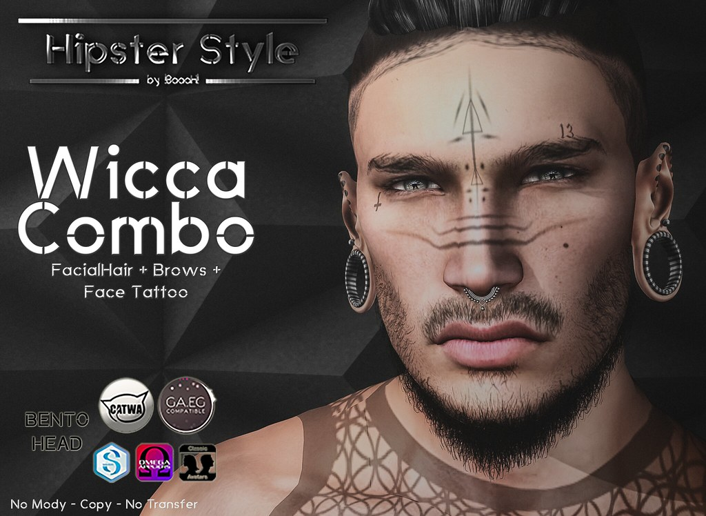 [Hipster Style] Wicca COMBO - SecondLifeHub.com