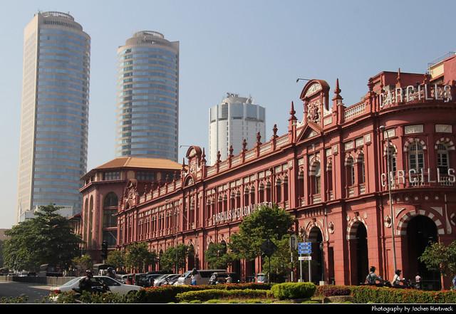 Cargills Department Store & World Trade Centre, Colombo, Sri Lanka
