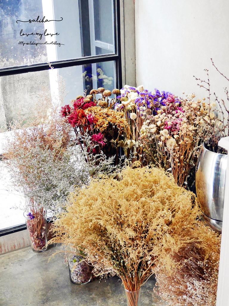 台中超好拍超美玻璃屋乾燥花偷偷 Toutou Cuisine下午茶咖啡館推薦 (1)