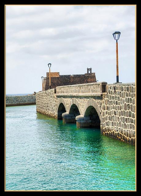 ARRECIFE ( Lanzarote ) - Castillo S,. Gabriel