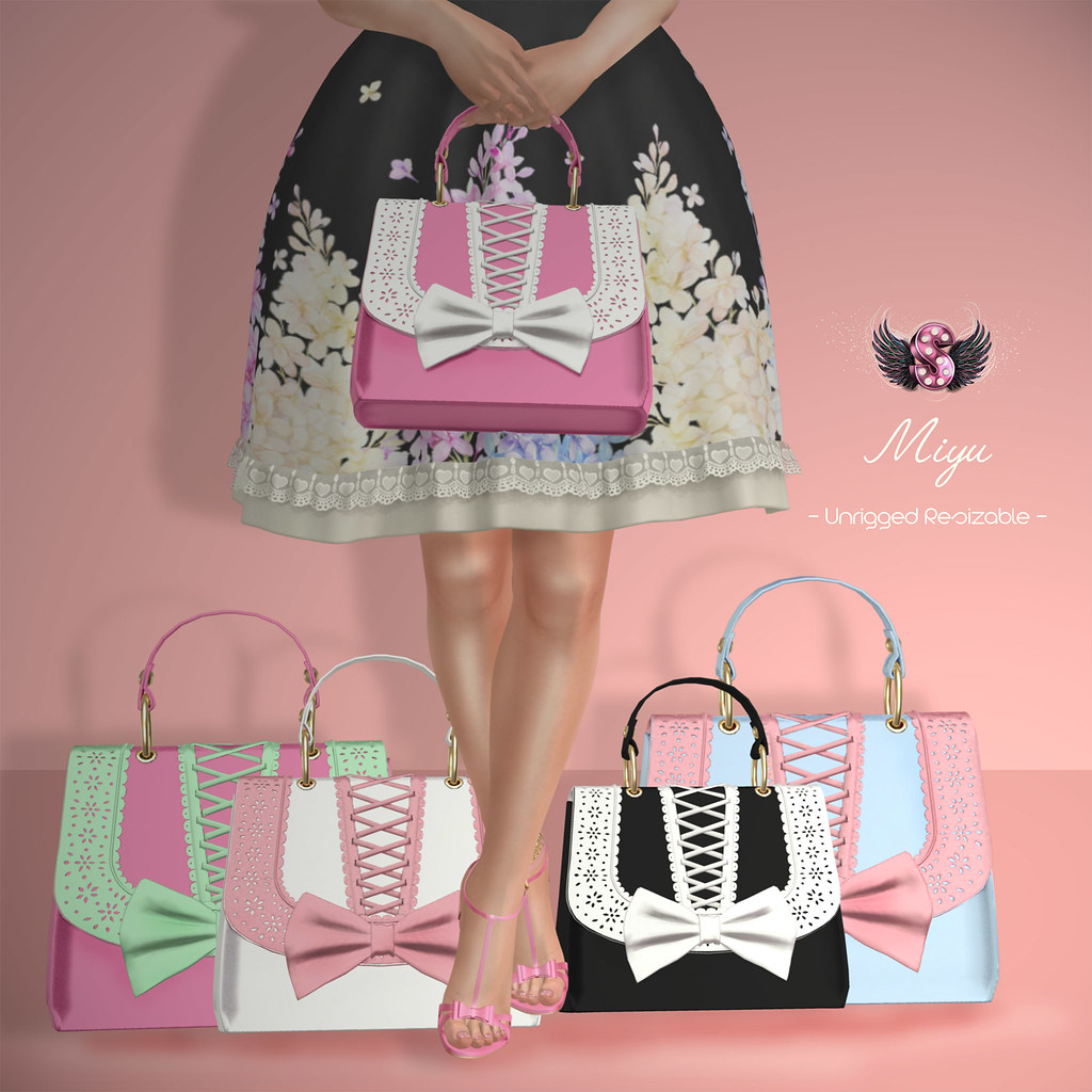 .::Supernatural::. Miyu Handbag @Secret Hidout - SecondLifeHub.com