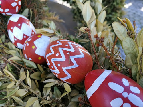 franconian easter well