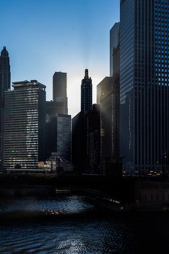 080365 2017 365project architecture building buildings chicago chicagoriver hardrockhotel morning privpublic skyline skyscraper sunrise unioncarbidebuilding