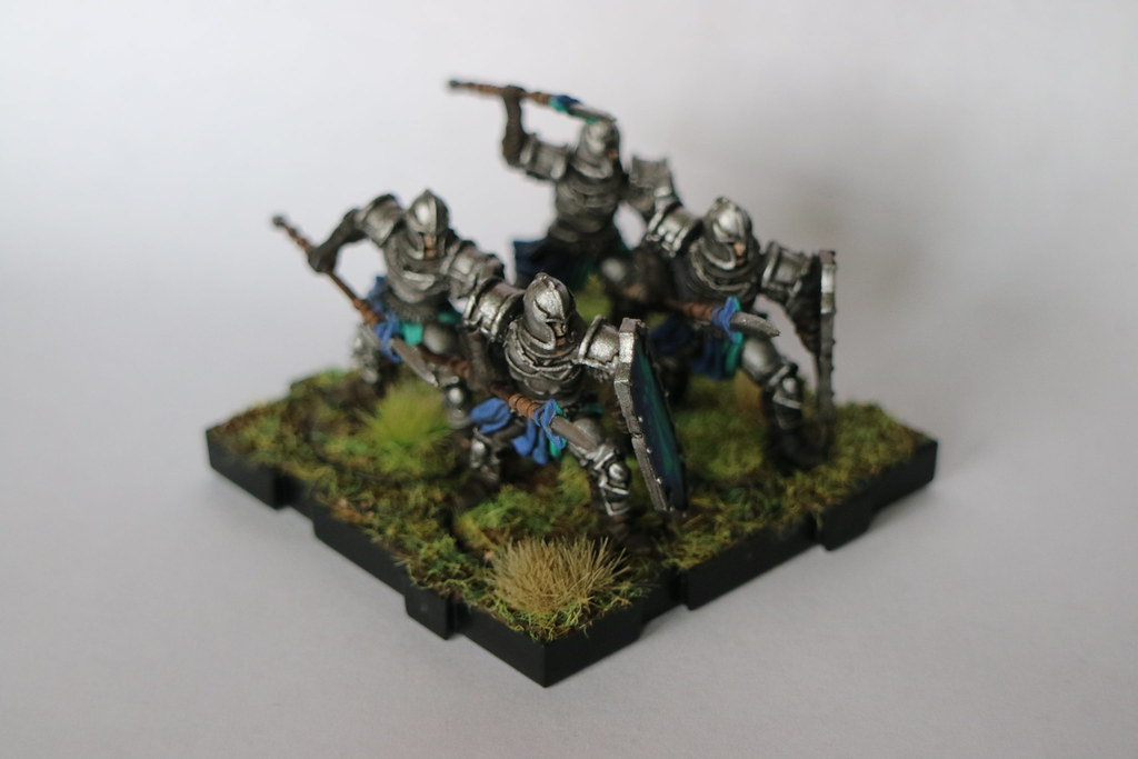 Runewars Miniatures Blue Spearmen 2