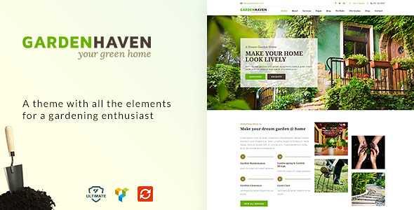 Gardening WordPress Theme free download
