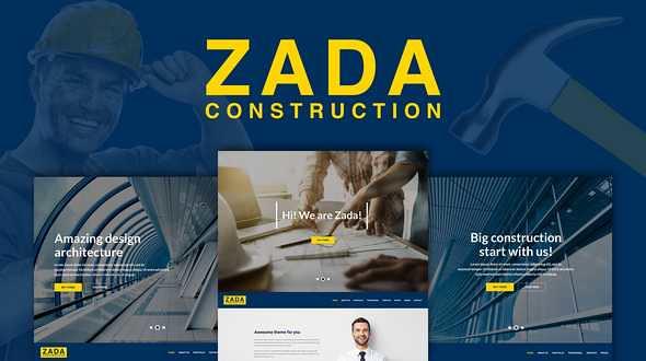 Zada WordPress Theme free download