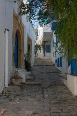 Dans les rues de Sidi Bou Saïd