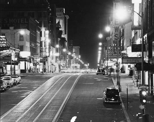 Market St., Harrisburg, PA. USA (1955)