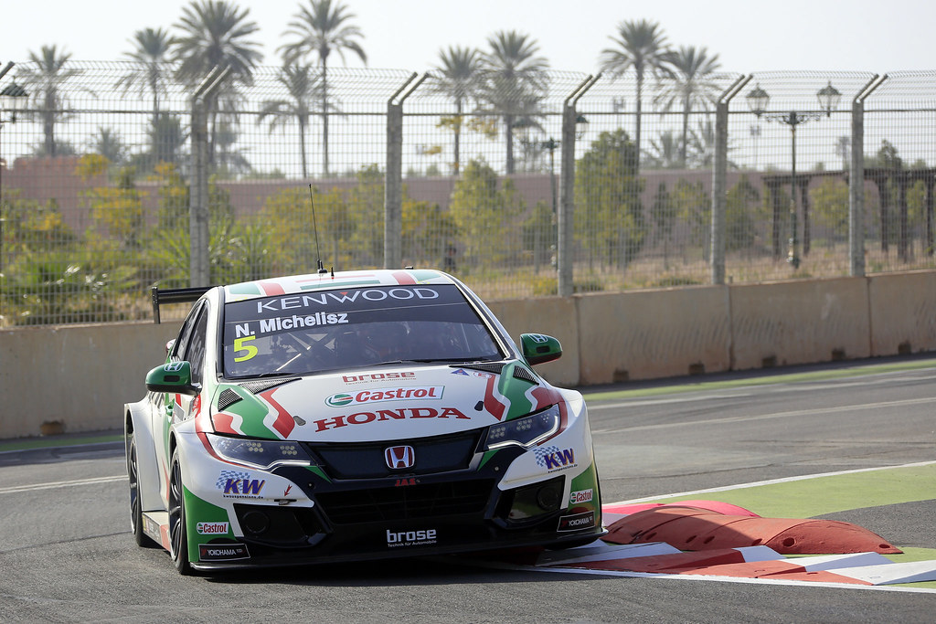 05 MICHELISZ Norbert (hun) Honda Civic team Castrol Honda WTC action during the 2017 FIA WTCC World Touring Car Race of Morocco at Marrakech, from April 7 to 9 - Photo Paulo Maria / DPPI