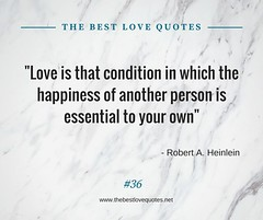 Love Quotes by Robert A Heinlein