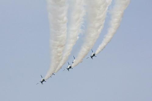 ブルーインパルス展示飛行 IMG_5009_2