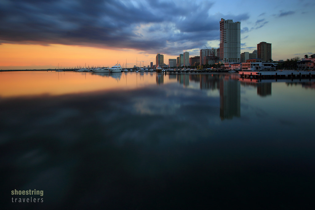 Manila Bay sunset and reflections