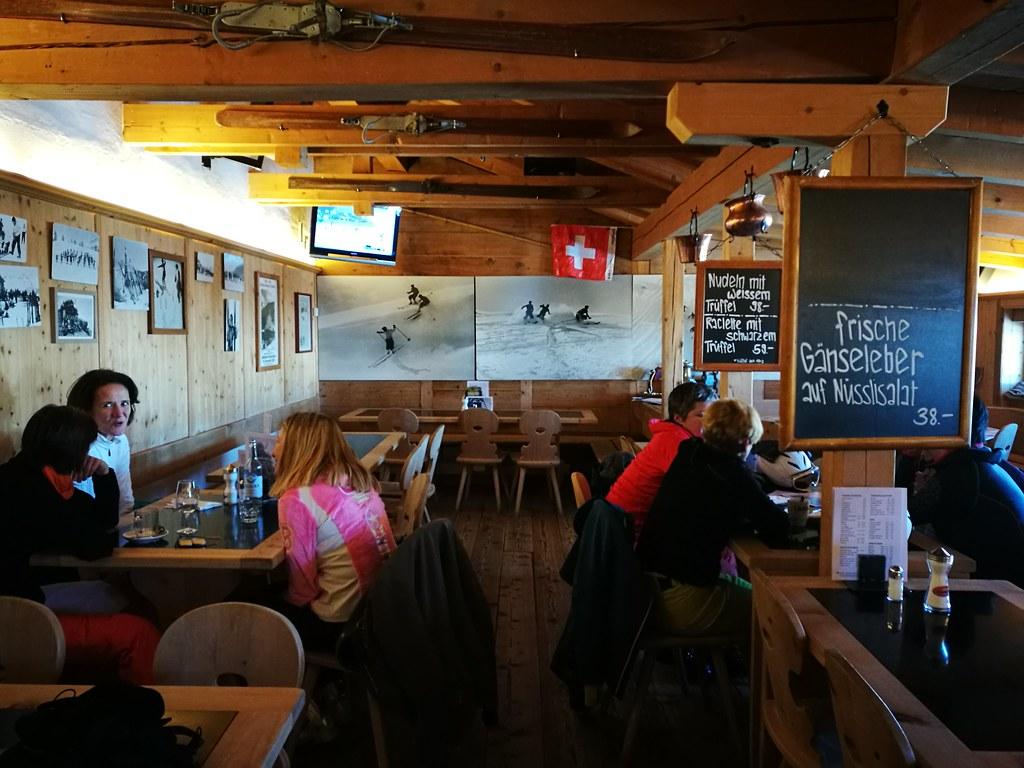 Inside Alpina Hütte