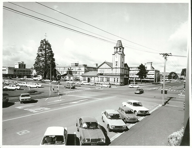 Former Post Office Building now Labour Department, corner Fenton and Arawa Streets. Rotorua