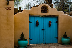 Santa Fe entrance gate