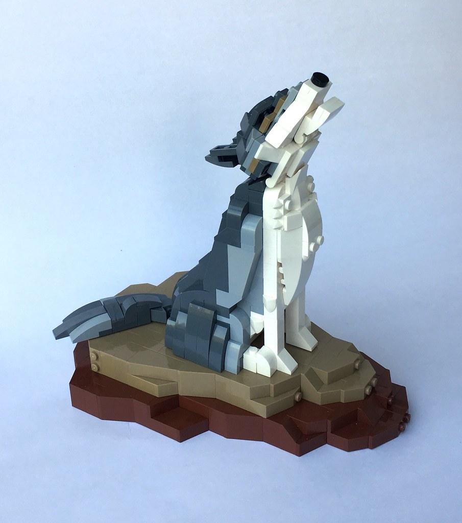 Wolf's howl (custom built Lego model)