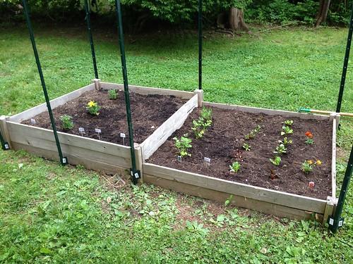 Garden pre fencing