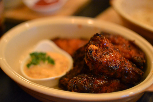 Spicy Buffalo Wings, Spathe Public House, Mohamed Sultan