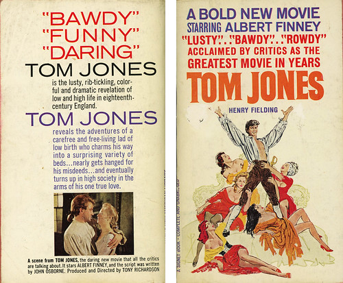 Signet Books T2404 - Henry Fielding - Tom Jones (with back)