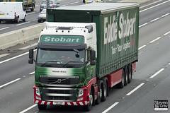 Volvo FH 6x2 Tractor - PX11 CKF - Matilda Grace - Eddie Stobart - M1 J10 Luton - Steven Gray - IMG_0120