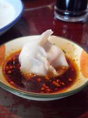 dumplings in spicy sauce