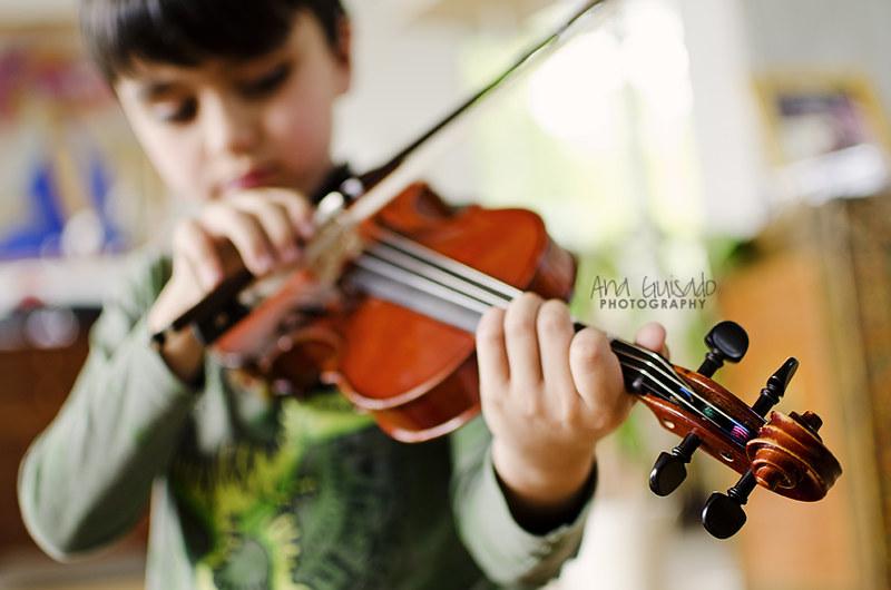 Mi pequeño violinista