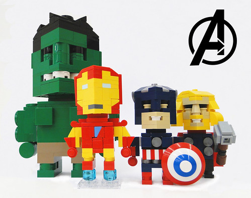 Avengers Heroes Cube Dudes
