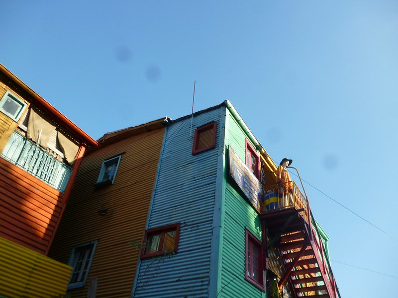 La Boca's colorful buildings