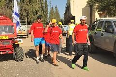 צעדת נכי צהל  מחוז חיפה והצפון - פסח 2013 בגן השלושה