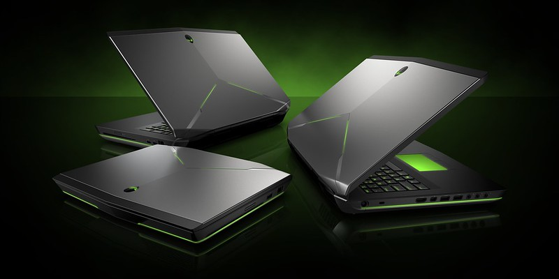 Alienware 14, 17, 18 Family Shot