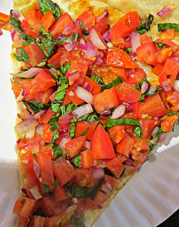 sallad pizza