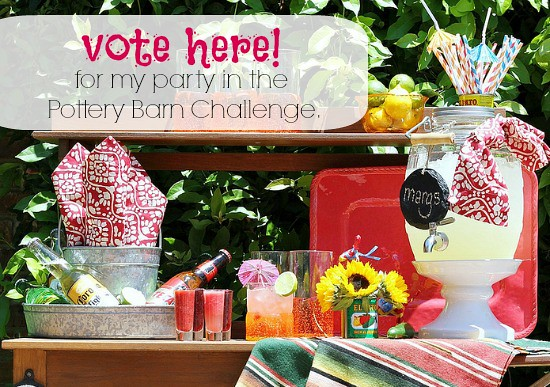 Vote for Hi Sugarplum in the Pottery Barn Challenge!
