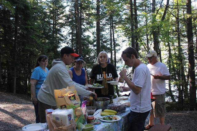 Ojibwa & SOC Lake McDonald Picnic