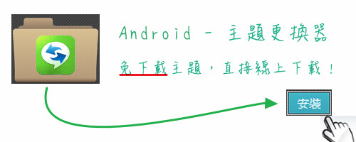 Android主題更換器