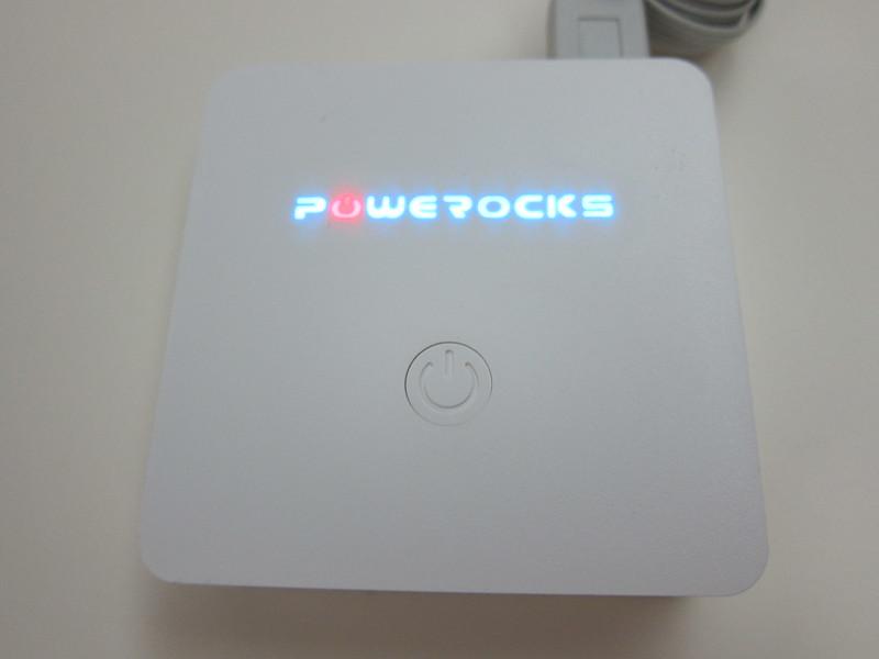 Powerocks Stone 3 - Glowing Logo