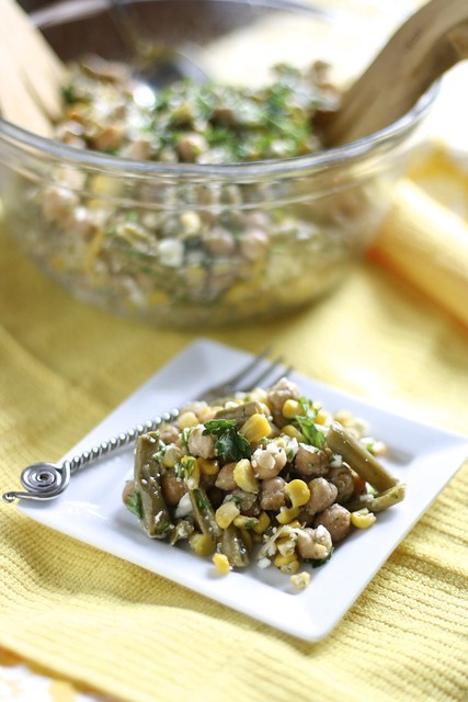 Summer Garbanzo Bean Salad