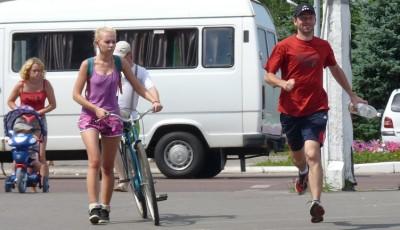 Jak se běhá v Bělorusku