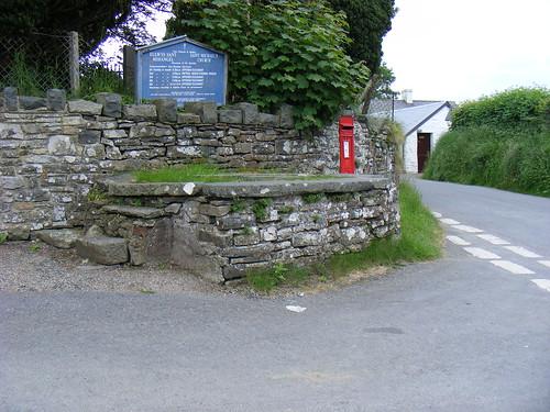 Stondin Laeth tu allan i Eglwys Sant Mihangel Ciliau Aeron