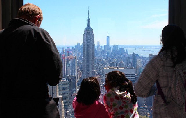 Top of Rock - O que ver em New York