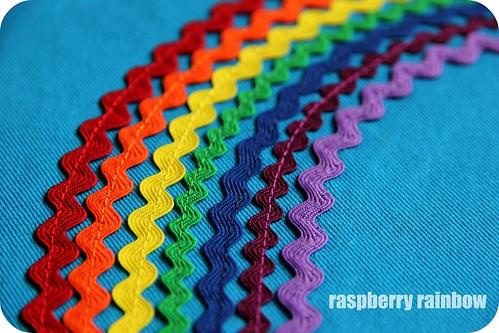 A Ric Rac Rainbow.