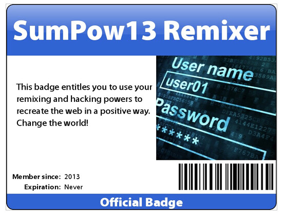 badge remixer