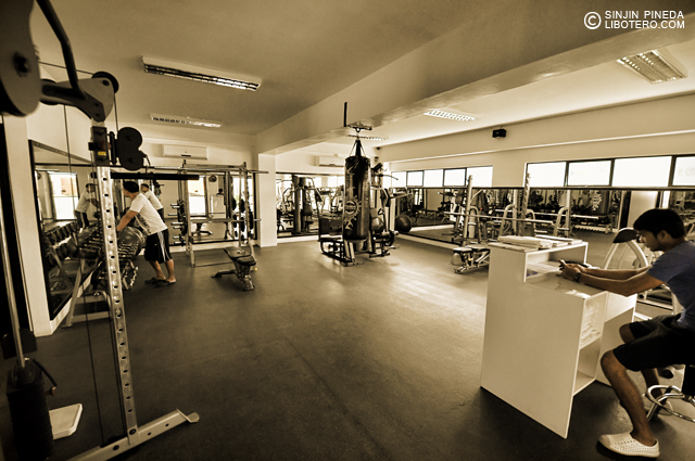 The Fitness Center Gym Tides Hotel Boracay