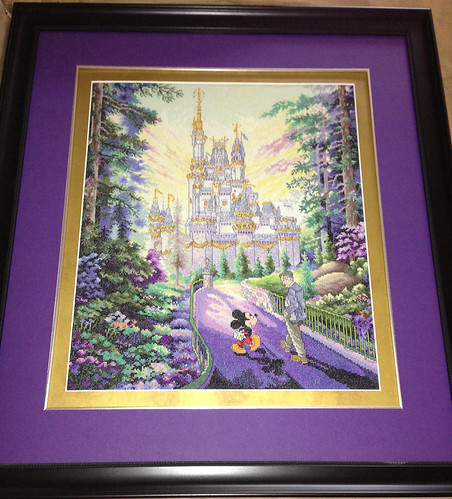 Disney's Past, Present and Forever Cross Stitch