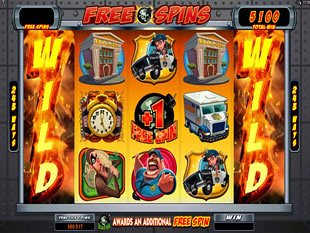Bust the Bank Free Spins Feature